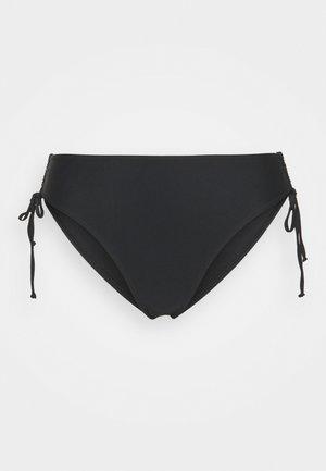 SIDE STRAP BOTTOM - Bikini bottoms - black