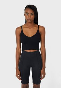 Stradivarius - RADLER- - Shorts - black - 0