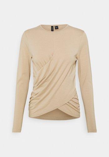 VMPANDA DETAIL - Long sleeved top - beige