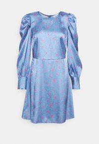 Closet - CLOSET PUFF SLEEVE MINI DRESS - Day dress - blue - 4