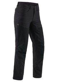 Haglöfs - MID FLEX PANT - Friluftsbyxor - true black solid short - 2