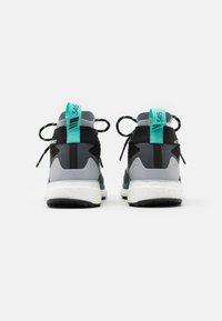 adidas Performance - TERREX FREE HIKER GORE-TEX - Hiking shoes - core black/active mint/hi-res yellow - 2