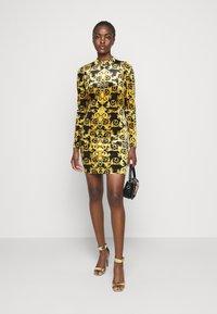 Versace Jeans Couture - LADY DRESS - Shift dress - black - 1