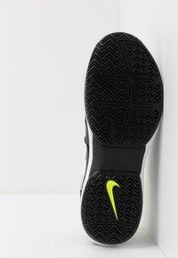Nike Performance - Multicourt tennis shoes - black/white/volt - 4