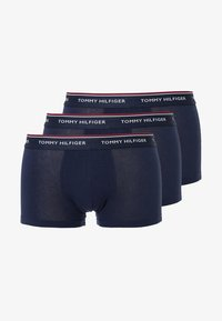 Tommy Hilfiger - PREMIUM ESSENTIAL LOW RISE HIP TRUNK 3 PACK - Shorty - peacoat - 4