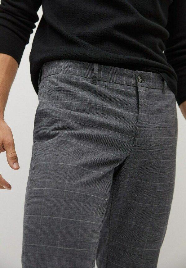 Mango BREST - Spodnie materiałowe - grau/szary Odzież Męska USJO