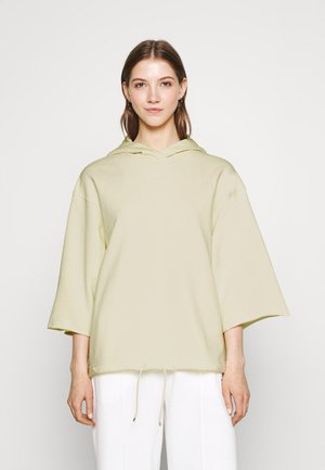 HOODIE - Sweatshirt - coconut milk/pale vanilla