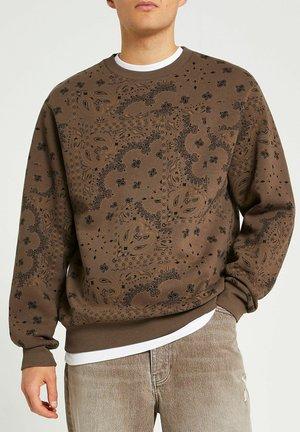 REGULAR FIT - Sweater - brown
