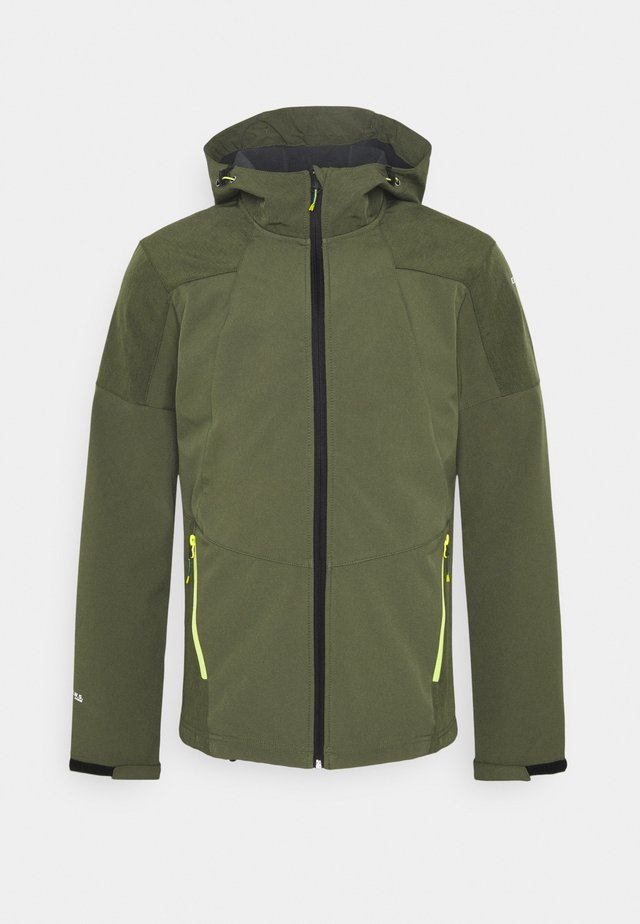 BENDON - Soft shell jacket - dark olive