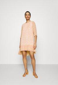 Selected Femme - JEANIE GRACY DRESS - Day dress - opera mauve - 1