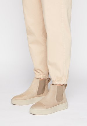 CORA - Platform ankle boots - taupe