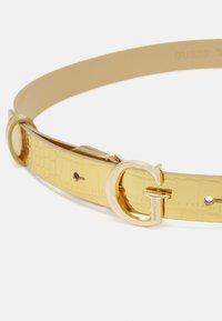 Guess - CORILY ADJUSTABLE PANT BELT - Riem - gold - 2