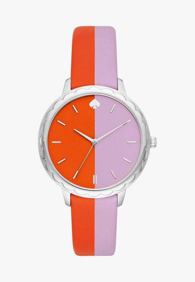 MORNINGSIDE - Watch - lila/orange