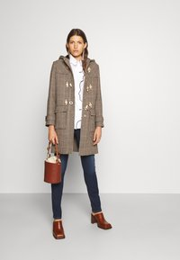 Alexa Chung - BLYTON DUFFLE COAT - Classic coat - brown/camel/rust/navy/green - 1