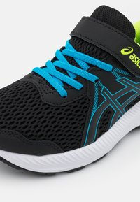 ASICS - CONTEND 7 UNISEX - Laufschuh Neutral - black/digital aqua - 5