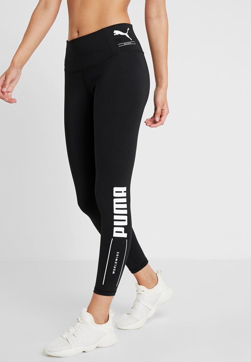 Puma - NU-TILITYLEGGINGS - Tights - black