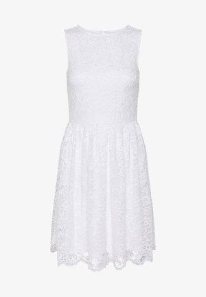BASIC OCCASSION MINI DRESS - Cocktail dress / Party dress - white