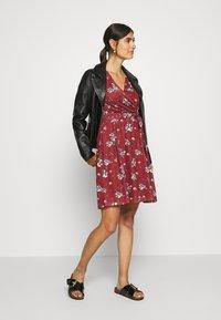 Anna Field - Day dress - dark red - 1