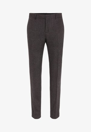 Suit trousers - chili red