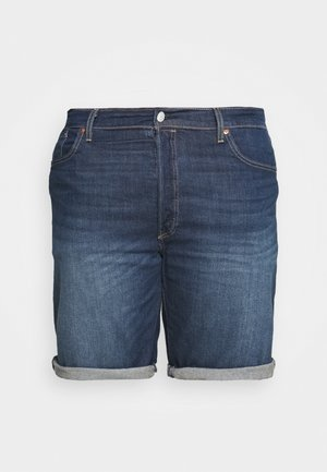 501® HEMMED  - Jeans Short / cowboy shorts - blue denim