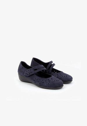 MODART - Ballerina's met enkelbandjes - blue