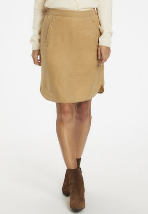 RHAPSODYPW  - Mini skirt - tannin