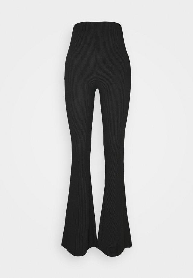 FLARE - Pantalon classique - black