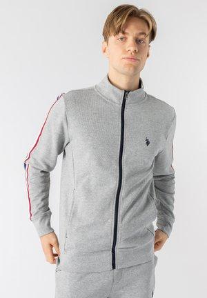 Träningsjacka - grey melange