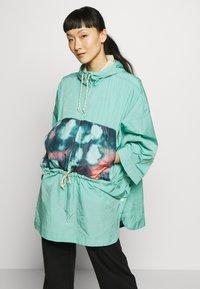 Burton - Waterproof jacket - turquoise - 0