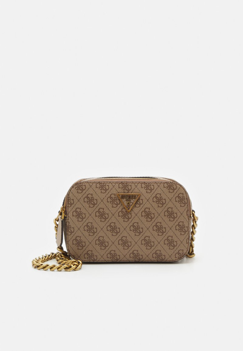 Guess - NOELLE CROSSBODY CAMERA - Torba na ramię - latte