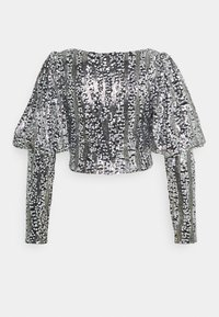 Nly by Nelly - SPARKLE PARTY - Blouse - black/silver - 1