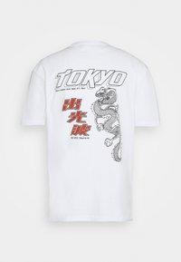 Nominal - TOKYO TEE - Print T-shirt - white - 7