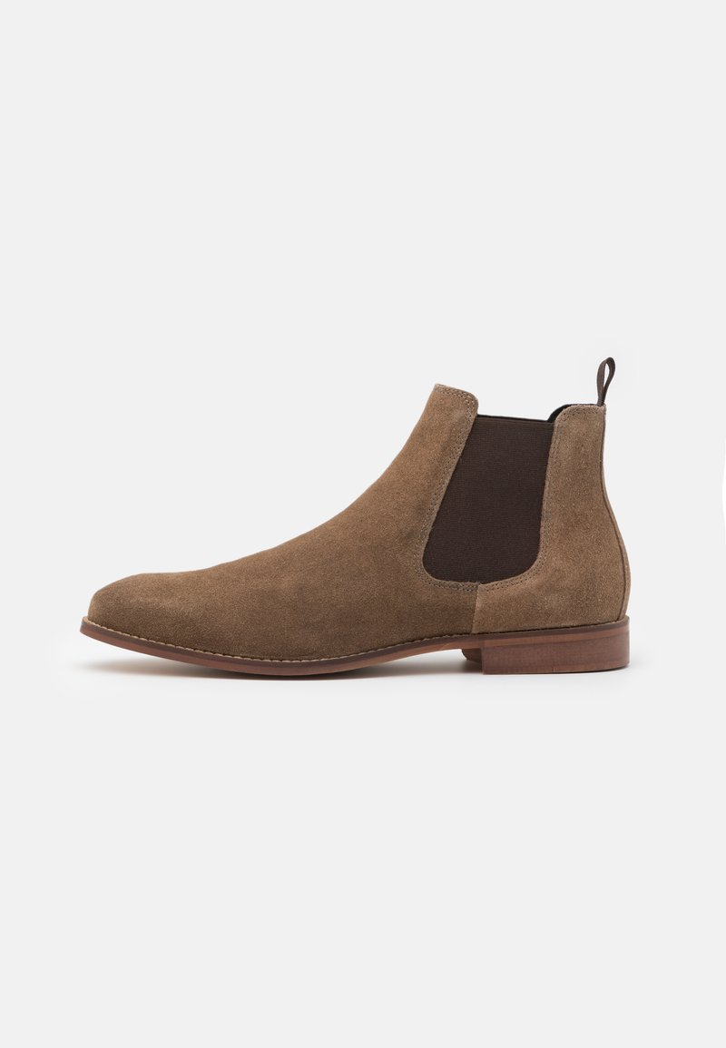 Zign - LEATHER  - Classic ankle boots - taupe