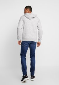 Hollister Co. - CORE ICON - Zip-up hoodie - grey - 2