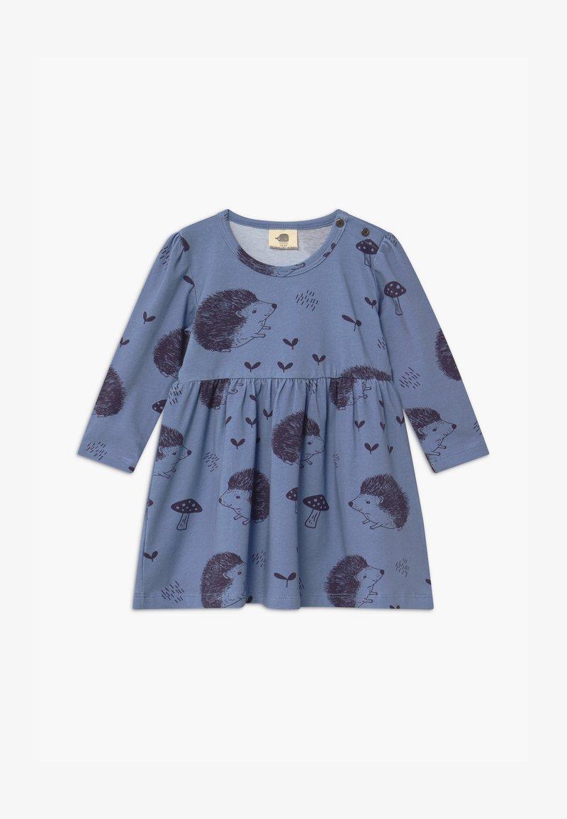 Walkiddy - HAPPY HEDGEHOGS BABY - Jersey dress - blue