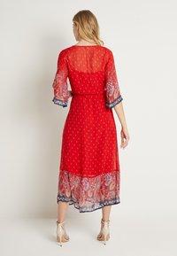 Cream - NALITACR DRESS - Robe longue - aurora red - 3