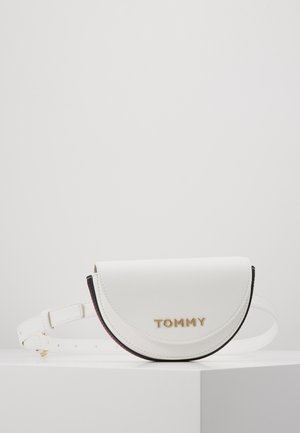 TOMMY STAPLE BELTBAG - Bum bag - white