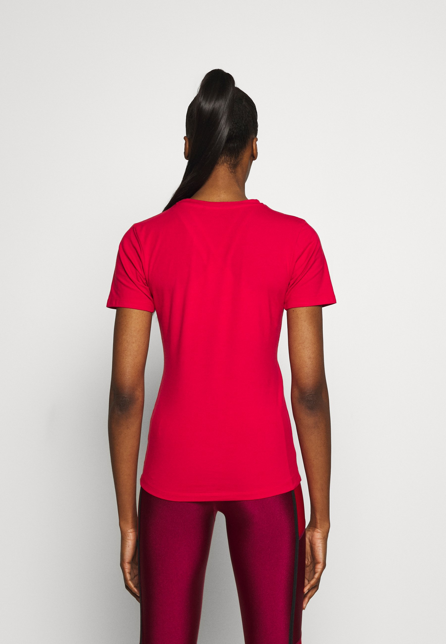 Ellesse DELLE - Print T-shirt - red CTIZc