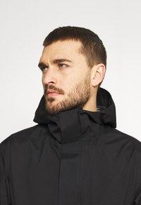 Peak Performance - LIGHT PAC - Hardshell jacket - black - 3