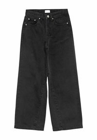 Grunt - WIDE LEG - Relaxed fit jeans - calm black - 0