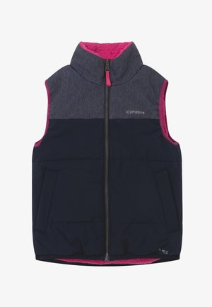 KILGORE JUNIOR - Bodywarmer - dark blue