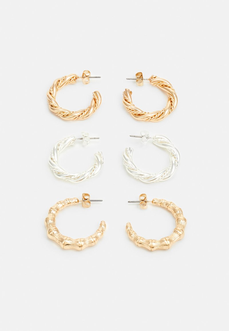 Pieces - PCVENNA EARRINGS 3 PACK - Earrings - gold-coloured