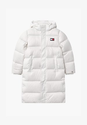 OVERSIZED UNISEX - Down coat - white