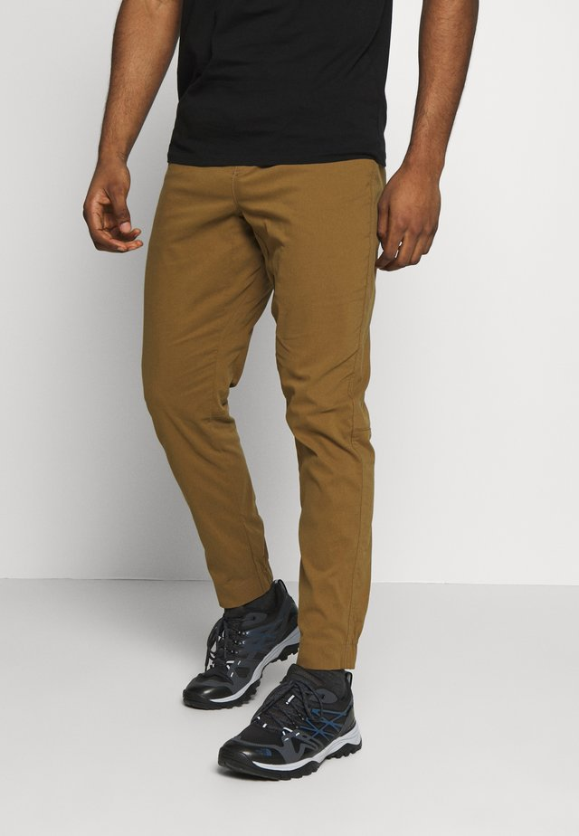 CIRCUIT PANTS - Pantaloni - dark curry