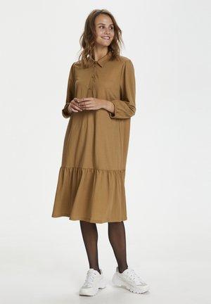 ELLIANA - Vestido camisero - pecan brown