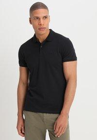 Scotch & Soda - CLASSIC CLEAN - Polo shirt - black - 0