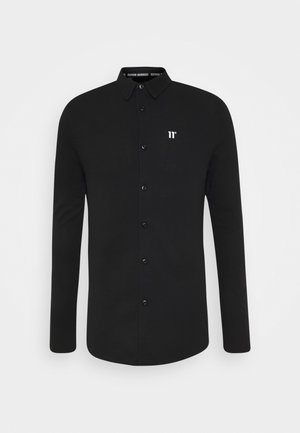 TEXTURED MUSCLE FIT  - Shirt - black