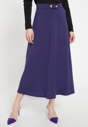 A-line skirt - lila