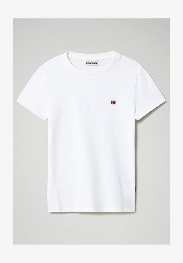 SALIS - T-shirt basic - bright white