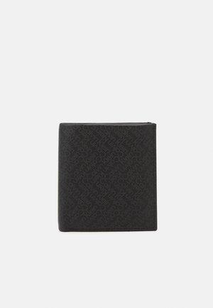 ZIG ZAG TRIFOLD COIN - Peněženka - black
